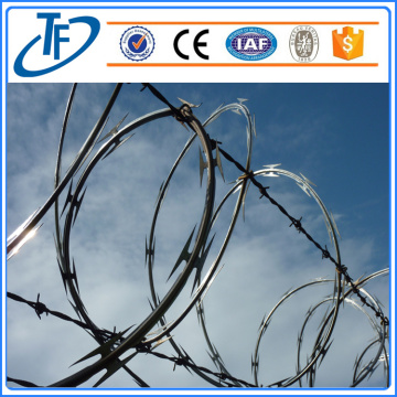 PVC Coated & Galvanized Security Razor Barbed Wire