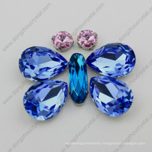 Manufacturer Wholesale Light Sapphire Crystal Jewelry Stone From Jinhua City