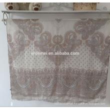 Cachecol de voile de impressão, lenço de moda atacado pashmina