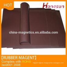 Neodymium Rubber Magnet Fridge Magnet Material