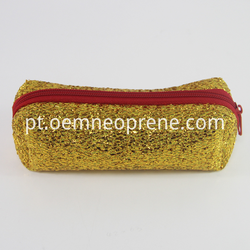 sequins pencil case