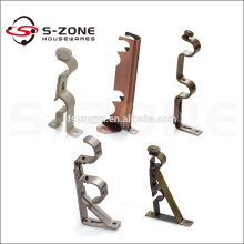 Metal curtain wall bracket or installation bracket for curtain track/rail/tube/rod-Curtain accessory
