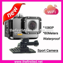 60Meters Waterproof full hd 1080p sport camera