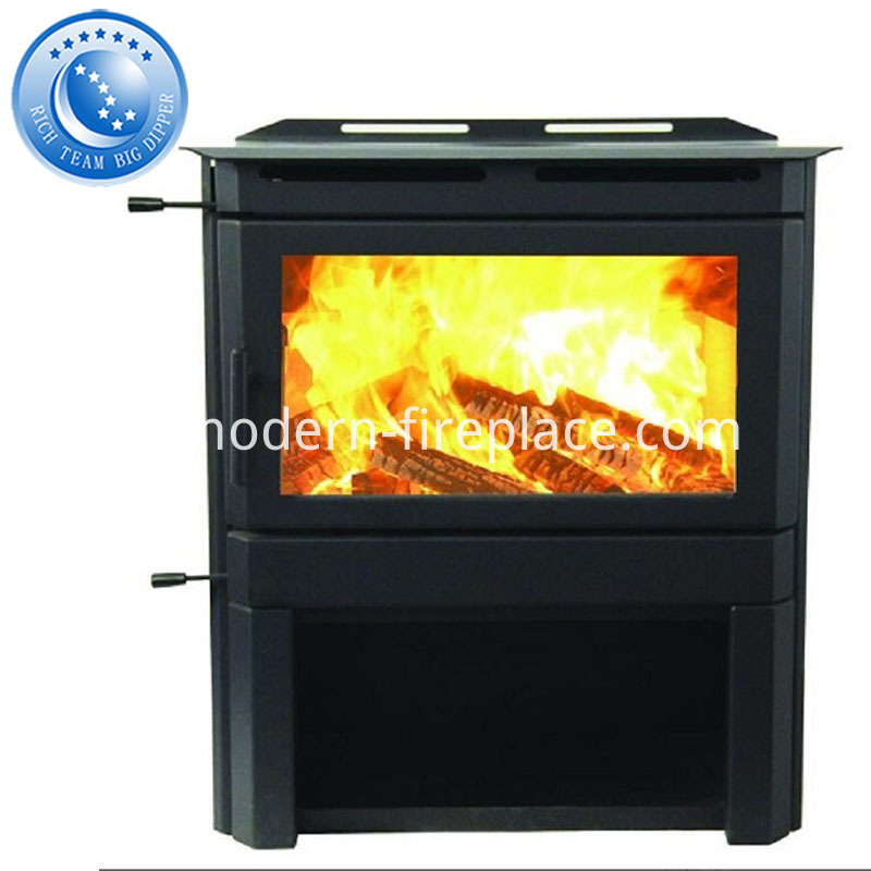 Steel Plate Wood Burning Modern Stove