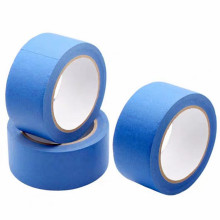High Temperature 160mm Width Residue  Free Durable Painter Blue Masking Tape For 3D Painter