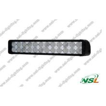 Barra de luz LED de duas fileiras CREE 240W desligada 4WD Boat Ute Driving Light