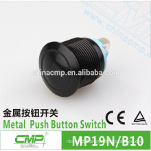 CMP 19mm waterproof anodized normally open momentary switch ip67