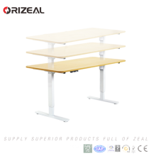Electric Height adjustable sit stand desk with nice design Save money