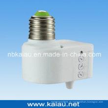 2012 Novo Design E27 B22 Suporte de lâmpada de sensor de microondas