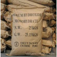 Cristal blanc 99% Hydroxyde de baryum mini pour l'industrie