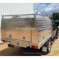 Waterproof o dossel de alumínio do ute do táxi duplo resistente com jaques de levantamento