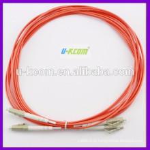 China Fonte da fábrica LC / LC MM cabo de cabo de remendo de fibra óptica duplex