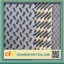 China nuevo diseño de alta calidad baratos tela para la cubierta de asiento de coche