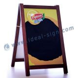 Advertising Sidewalk Sign Mdf Frame Chalkboard For Kitchen