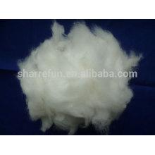 Grado A Angora pelo de conejo color blanco 15.0mic / 32mm