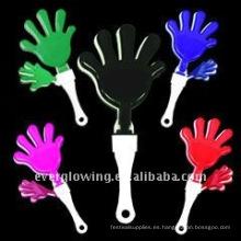 fabricante de ruido de mano de plástico