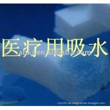 macromolécula Absorbente fieltro de algodón para suministros médicos / ciencia médica