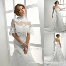 Correspondência Wrap A Line Lace Wedding Dress 2013