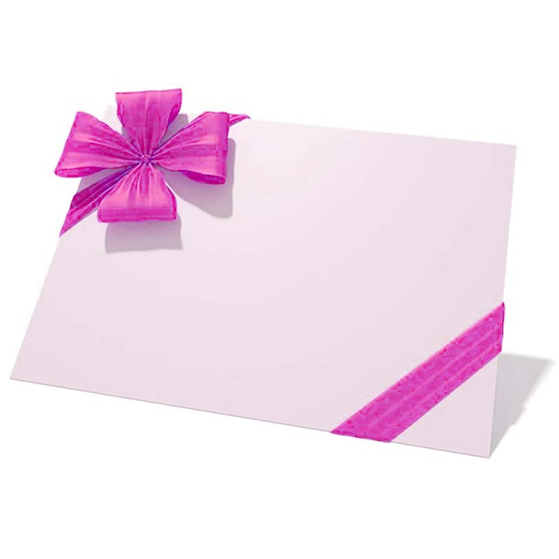matching greeting card paper bag