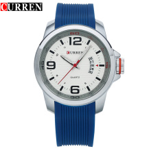 CURREN Water Resistant quartz watch Silicone Wrist Watches