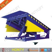 Hydraulische Containerwagen-Hebegeräte laden Rampen ab, die zum Verkauf stehen