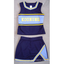 Cheerleader Uniform: Shell Top and Skirt
