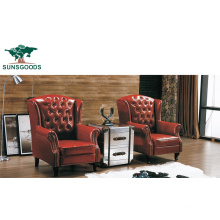 Chesterfield Modern Single Sofa Leisure Chiair Made in China