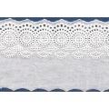 Bordure dentelle/lace spandex nylon brodé populaire pour robe de mariée dentelle