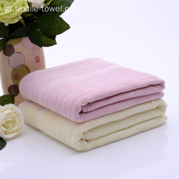 Jacquard Waves Bamboo Bath Towel Sets