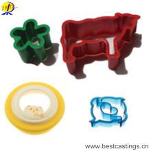 Heiße verkaufende Tierplastikkuchen-Form für Haus DIY