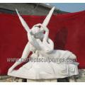 Сад Каменная скульптура с мраморным песчаником Известняк гранит (SY-X1661)