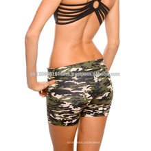Sexy fit camo crossfit shorts for girl and women gym exercise yoga sports wear