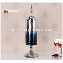 Material personalizado de vidro personalizado flor vasos de vidro para decoração de casa
