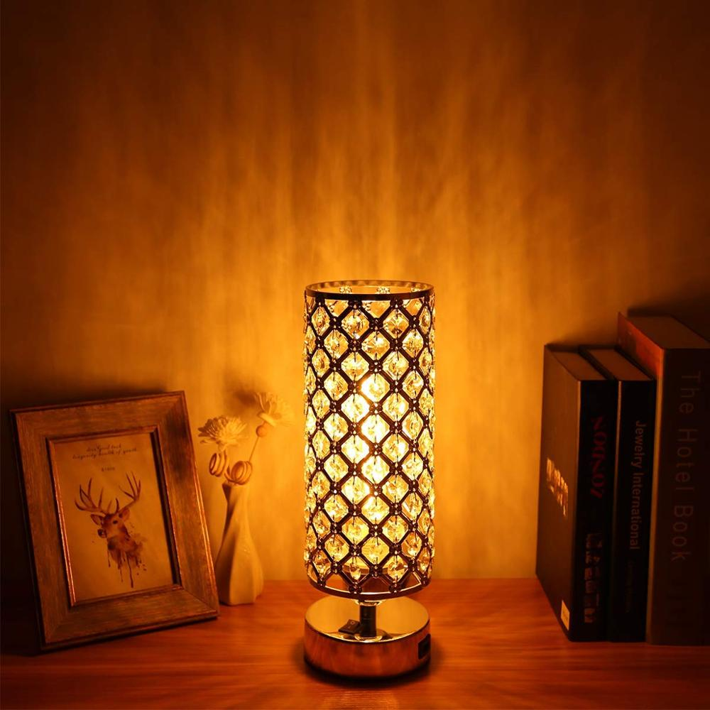 Application White Side Table Lamp