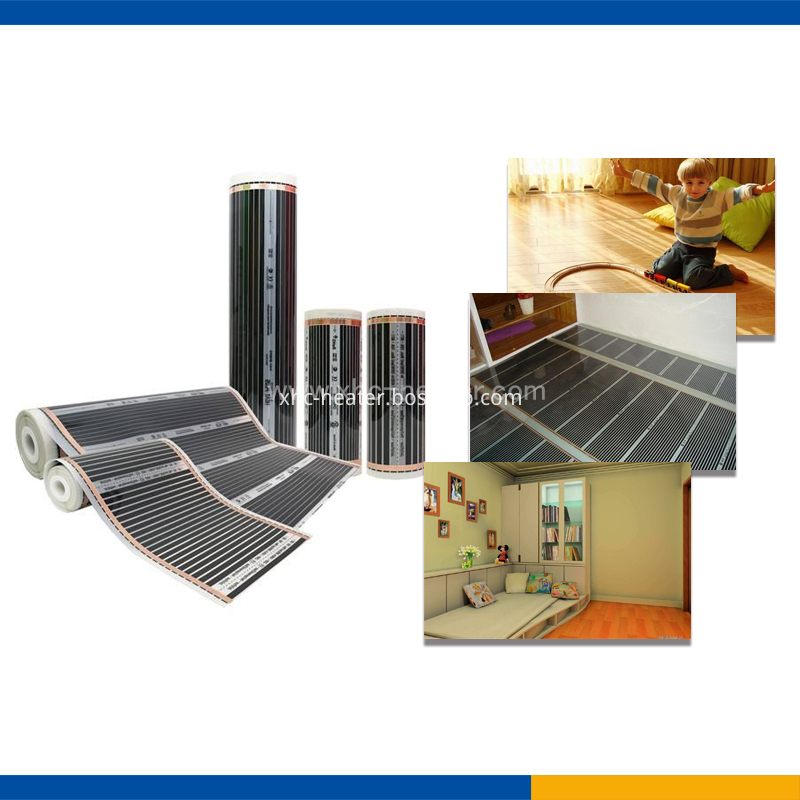 Carbon Warm Floor Heating Film application
