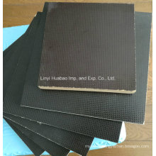 Anti Slip / Wiremesh Film Fached Plywood WBP Glue for Constructions