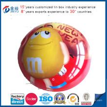 Wholesale Irregular Button Metal Ms Chocolate Packaging