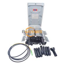 16 Ports 48 Spleiße Glasfaser-Verteiler-Hub