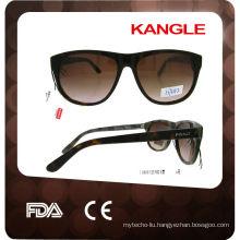 2017 Handmade Flat Top High Quality Acetate Sunglasses
