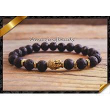 Bracelet en perles pour hommes, Bracelet en lame à perles de pierres semi précieuses, Bracelet en mode bijoux en gros (CB045)