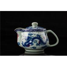 Traditioneller Drache und Phenix Chinesischer Teetopf Große Größe