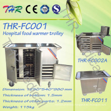 Hospital Portable Electric Heating Dinnering Food Trolley (THR-FC001)