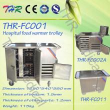 Тележка стационара еды стационара портативная электрическая (THR-FC001)