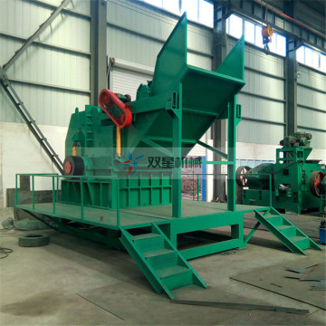 Scrap Steel Crusher Equipment en vente