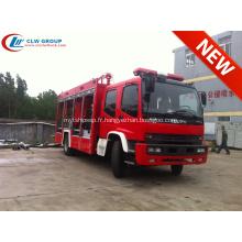 2019 Export au Mozambique Camion de pompier à poudre ISUZU