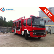 2019 Export to Mozambique ISUZU Powder fire truck