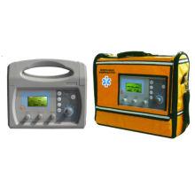 Ventilador de emergencia con ventilador portátil aprobado CE & ISO PA-100c