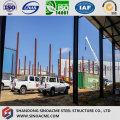 Extensión de marco de acero para taller de procesamiento