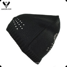 Lady′s Fashion Double Side Sequins Beanie