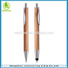 Papeterie de bambou amical eco personnalisée définie pour bureau